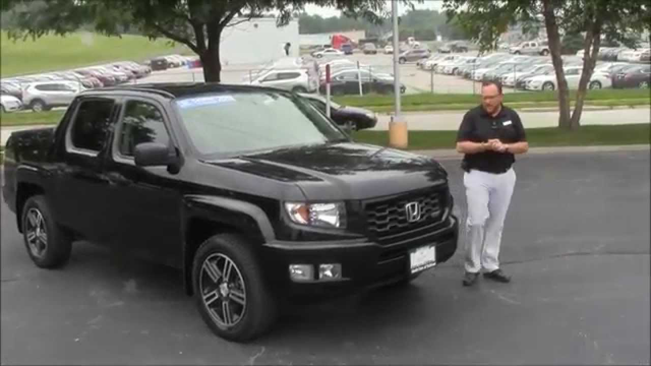 Used 2013 Honda Ridgeline Sport 4wd for sale at Honda Cars of ...
