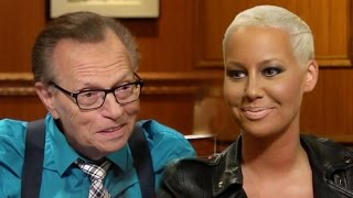 [Released 2015] Amber Rose sits down with Larry King for a rare, in...
