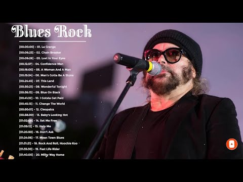 Blues Rock Music Best Songs - Top 20 Blues Rock Songs Playlist