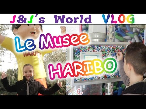 Le Musee Haribo : Notre 1er VLOG  + Une surprise pour vous !