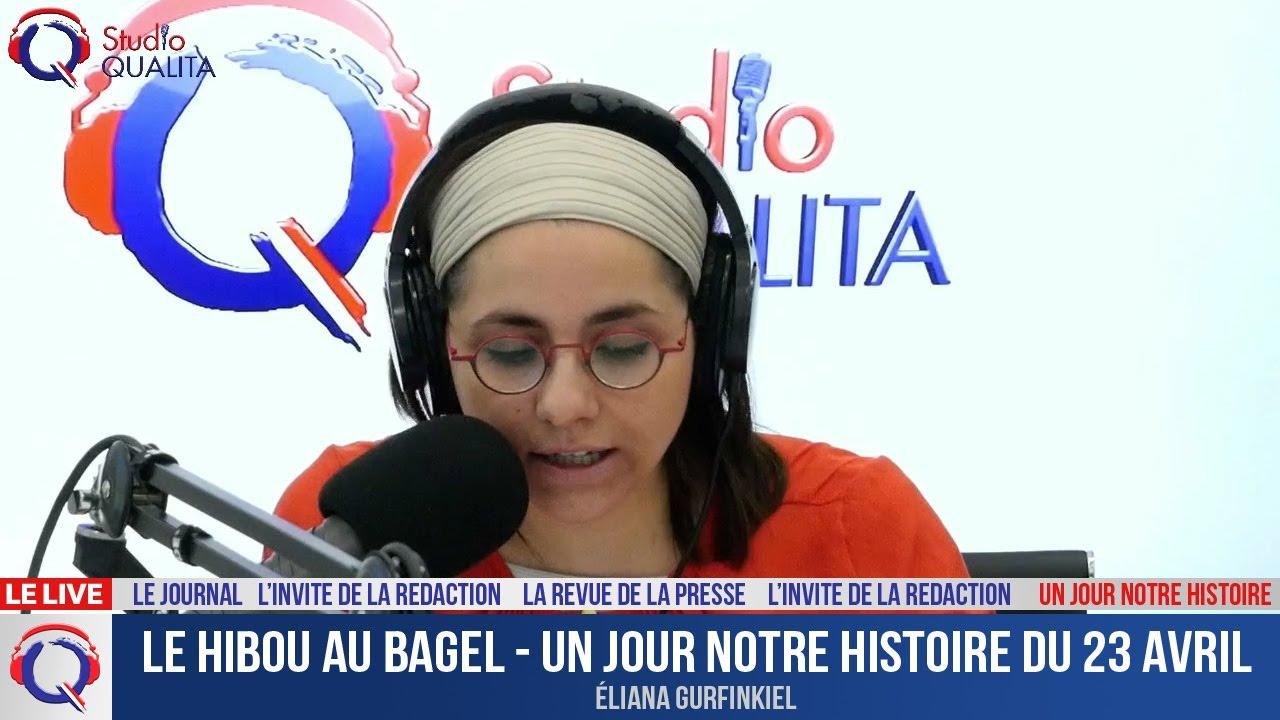 Le hibou au Bagel - Un jour notre Histoire du 25 avril