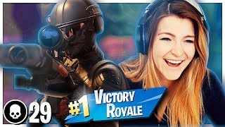 HE SNIPED ME OUT OF THE AIR! GIRL SQUADS w/ Ignorance, Asivrs & Danii (Fortnite: Battle Royale)
