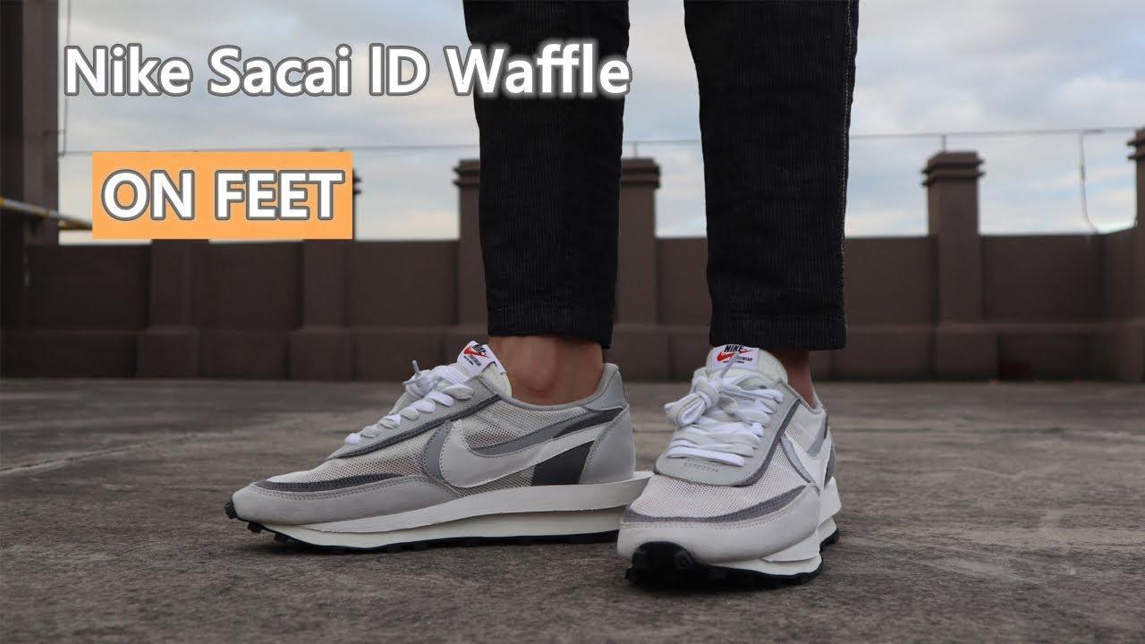 【REVIEW & On Feet】Nike X SACAI LDWaffle Summit White
