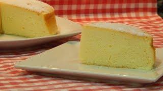 Pastel muy esponjoso y fácil con solo 3 ingredientes y sin harina
