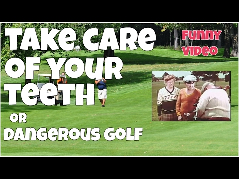 Take care of your teeth or dangerous golf ★ Epic FUNNY Video