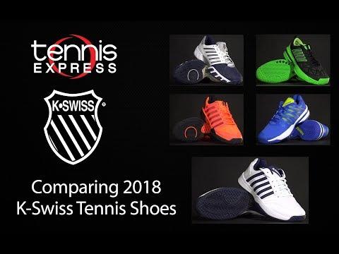 Comparing Top 2018 K-Swiss Tennis Shoes | Tennis Express