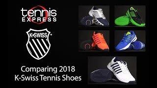 Comparing Top 2018 K-Swiss Tennis Shoes | Tennis Express