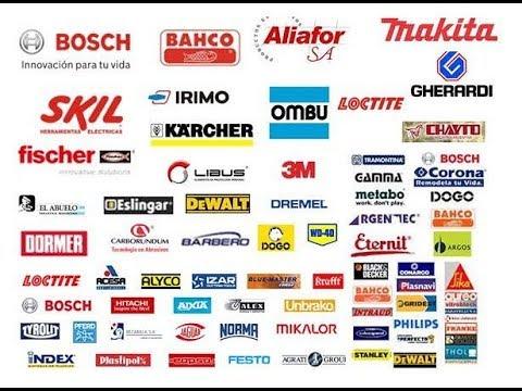 Empresas de herramientas y sus marcas youtube - Marcas de sabanas buenas ...