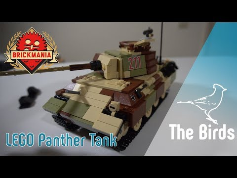 LEGO Panther Tank By Brickmania - Build & Review!