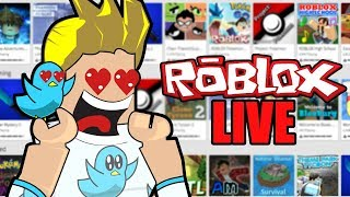 LIVE Playing Roblox~Also Doing shoutouts on stream- Road To 300