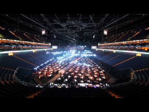 BRITs 2015 Time-Lapse at The O2 I BRIT Awards 2015