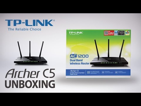 Tp Link Ac1200 Wireless Dual Band Gigabit Router Archer C5 Unboxing Video Youtube