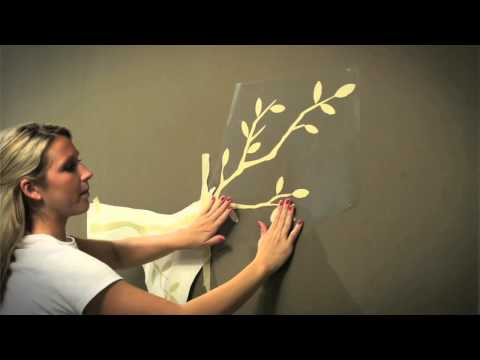 Wall Decal Tips   Installing Large Wall Decals