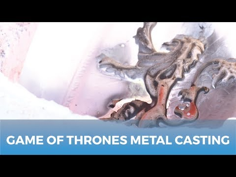 Lost PLA Aluminum Casting | Game Of Thrones!