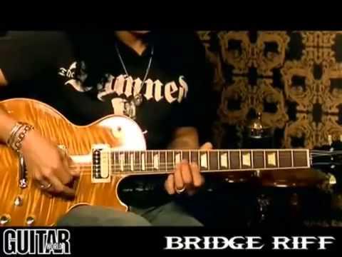 Slash – Guitar Lesson (Paradise City)