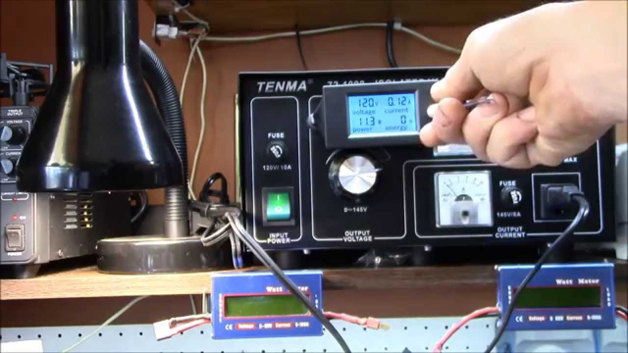 Pzem 061 Ac Panel Meter Operation Youtube