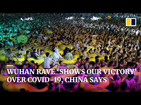 Wuhan pool party shows China's 'strategic victory' over Covi