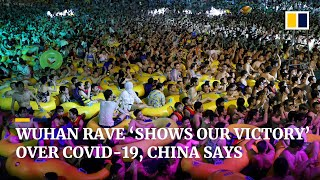 Wuhan pool party shows China's 'strategic victory' over Covid-19, Beijing says