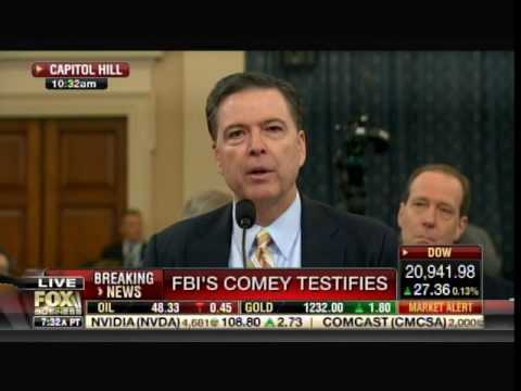 FBI Director Refuses to Say If He Discussed Gen. Michael Flynn's Phone Calls with Obama