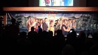 Perform Cakra Khan dan Maria Calista di presscon sinetron ELIF indonesia
