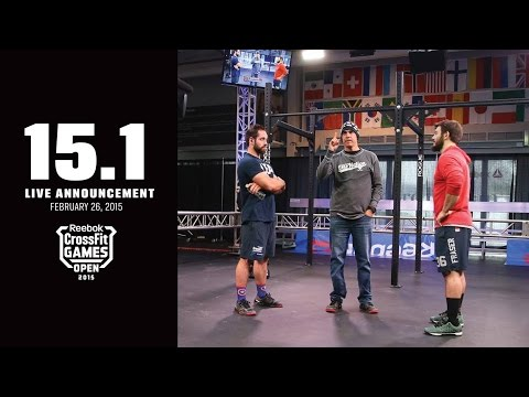 CrossFit Open 15.1 FRONING vs FRASER