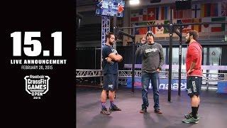 CrossFit Open 15.1 FRONING vs FRASER