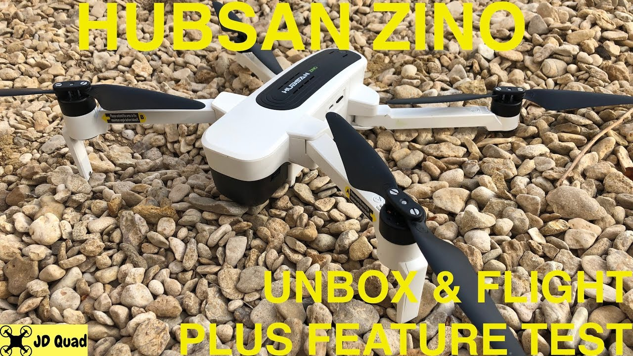 Download The New Hubsan H117S Zino Flight & Feature Test Video