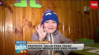 Atención médica por 500 pesos en Cerro Navia