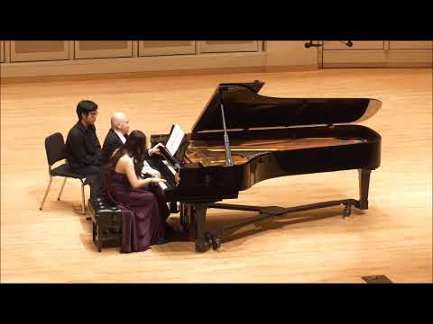 Soojin Joo and Emile Naoumoff play his Valse Ritournelle