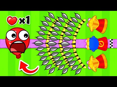 Bloons TD 6 - Purple ONLY Path Challenge | SSundee
