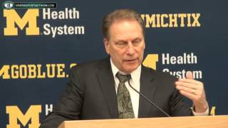 Tom Izzo Press Conference: Michigan State 80 Michigan 67