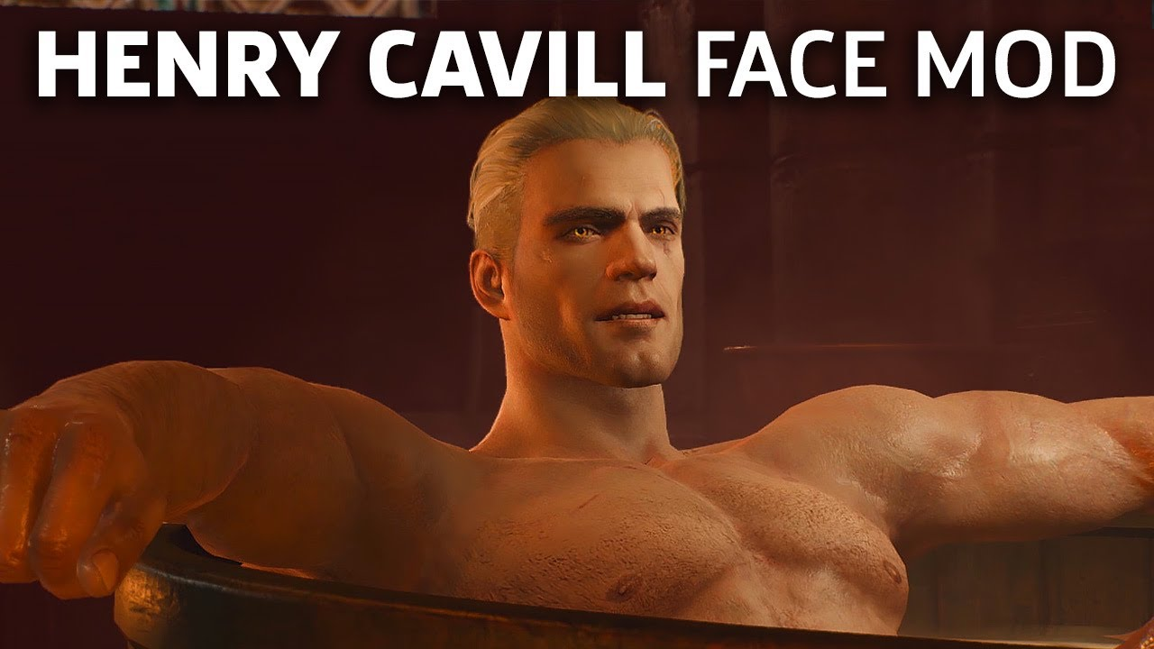 The Best Henry Cavill Witcher 3 Face Mod Yet