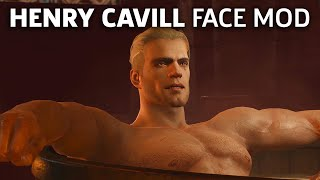 The Best Henry Cavill Witcher 3 Face Mod Yet?
