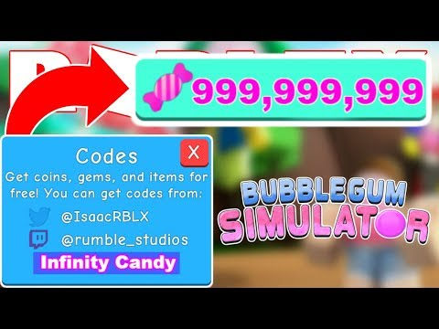 JANUARY 2019* ALL NEW BUBBLE GUM SIMULATOR CODES | UPDATE 12