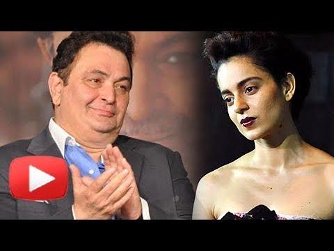 Rishi Kapoor REACTS On Kangana Ranaut Comment On Fake Bollywood Award Functions
