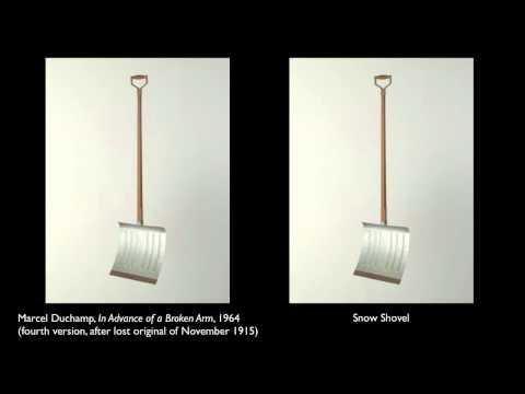 Art as concept: Duchamp, In Advance of the Broken Arm
