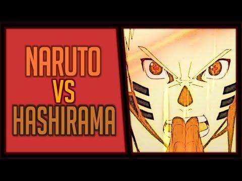 Naruto Uzumaki VS Hashirama Senju