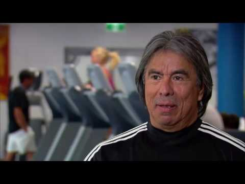 Andre Agassi | Fitness Guru GIL REYES | Interview at Australian Open