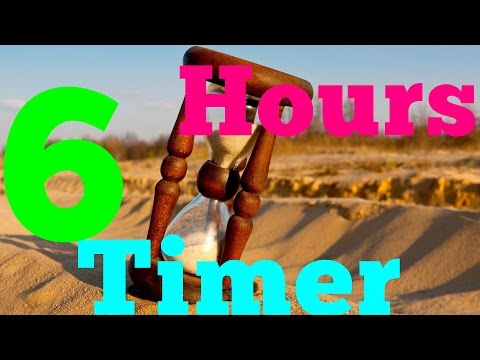 6 Hours Alarm Countdown Timer Clock