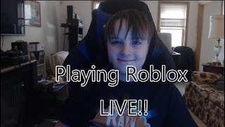 Playing Roblox JailBreak LIVE!! 🔴