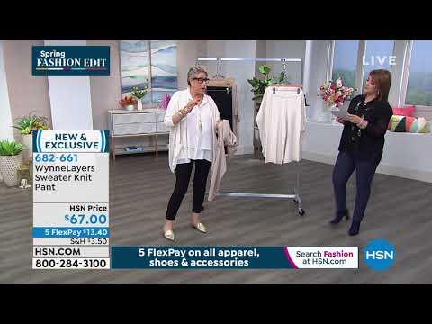 MarlaWynne Sweater Knit Pant