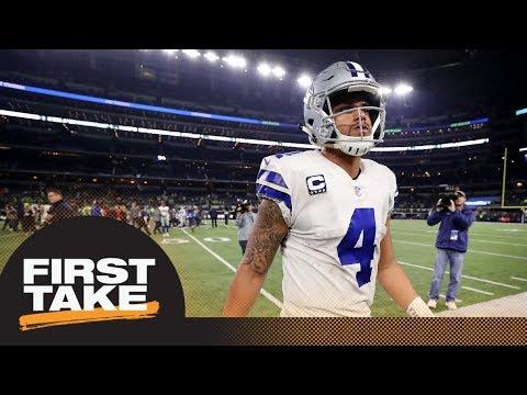 Is Dak Prescott a problem for Cowboys?   First Take   ESPN