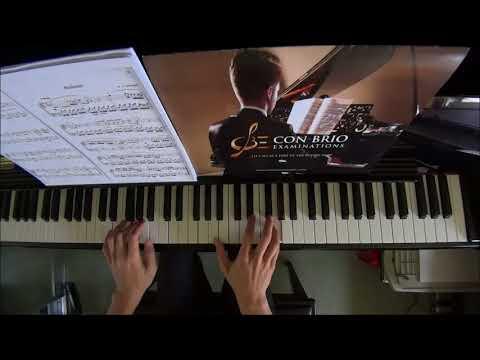 Leila Fletcher Piano Course Book 6 No.7 Mozart Andate (P.17)
