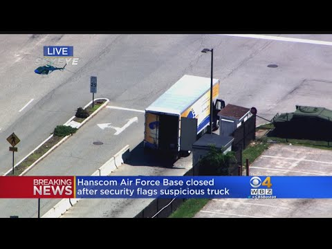 Hanscom Air Force Base Closed After Security Flags Suspicious Truck