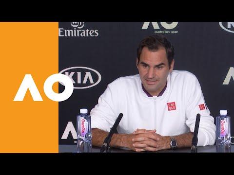 "Roger Federer: ""I have to be careful"" | Australian Open 2020 R1"
