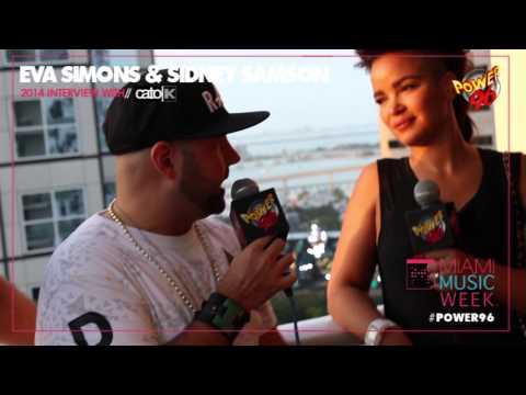 Miami Music Week 2014 - Eva Simons & Sidney Samson [EXCLUSIVE VIDEO INTERVIEW]