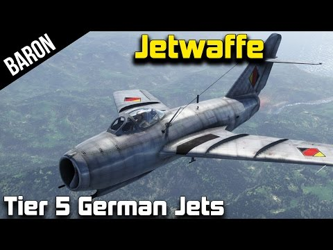 War Thunder Jets - Tier 5 German Jets, They're Trying to Steal My Squirrel (Derpy Fun)