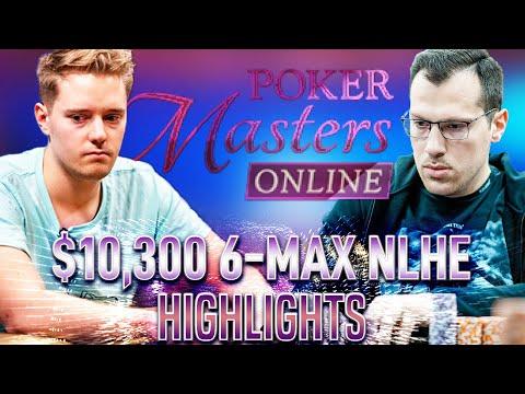 POKER MASTERS Online #18 $10k LLinusLLove | Mararthur1 | Lena900 Final Table Poker Highlights
