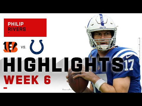 [Highlights] Philip Rivers Slings It for 371 Yds & 3 TDs, completes the comeback on Week 6 2020 against the Bengals!
