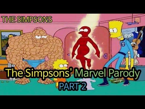 The Simpsons' Marvel Parody - PART 2